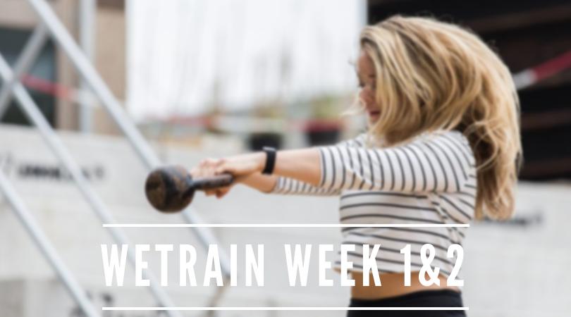 Trainen bij WeTrain Eindhoven – week 1 en 2